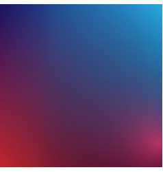 Abstract gradient background blurred blue red vector