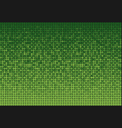 Banner of green sequins glitters sparkles repeat vector