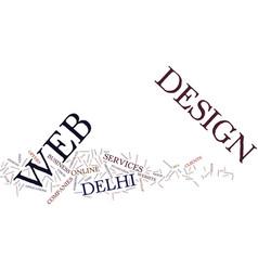 Encourage online with website design text vector