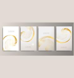 Minimal covers design metallic wave abstract vector