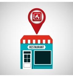 Smartphone store app location vector