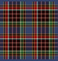 tartan seamless pattern background red black vector image