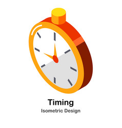 Timing isometric vector