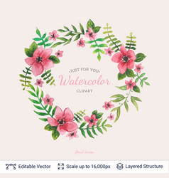 vintage background template for greeting card vector image
