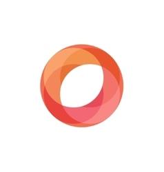 Fireball Abstract for business logo vector image vector image