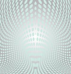 Halftone background design templates Geometric vector image vector image