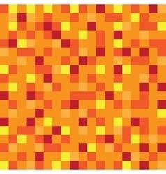 Abstract block texture orange pixel yellow vector