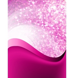 Abstract purple flow background vector
