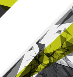 abstract shattered background vector image