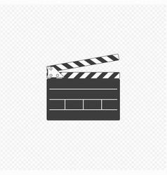 director clapperboard icon vector image