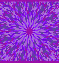 Geometrical colorful dynamic circular burst vector