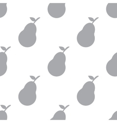 New Pear seamless pattern vector image