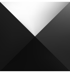 One black abstract square gradient vector