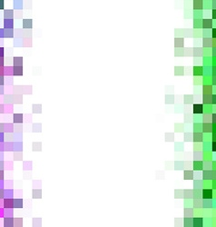 Pixelated Blurred Mosaic Background vector