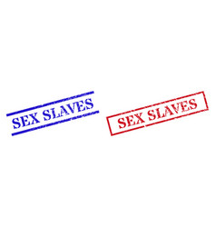 Sex slaves grunge rubber stamp watermarks vector