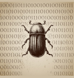 Software bug breaking binary code vector