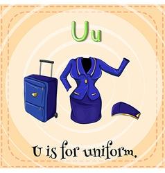 Uniform vector
