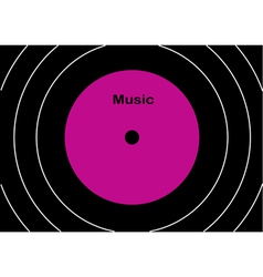 Audiodisk vector image