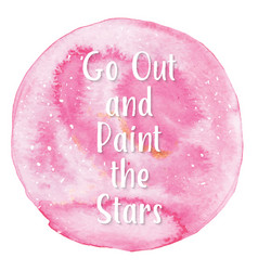 art of watercolor stains of paint vector image