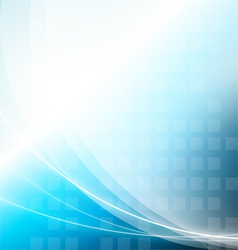Abstract background with wavy light vector