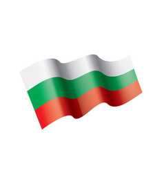 bulgaria flag vector image