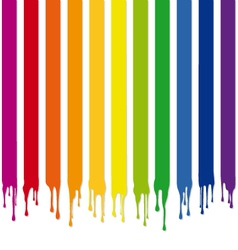 Colorful stripes with drops vector