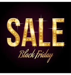 Flash sale Black vector image