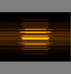 Golden frequency bar overlap in dark background vector