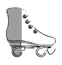 Skates wheels isolated icon vector