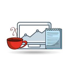 social media marketing icons vector image