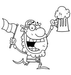 St partricks day cartoon vector