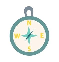 Travel compass icon vector