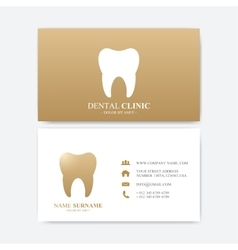 Premium business card print template visiting vector