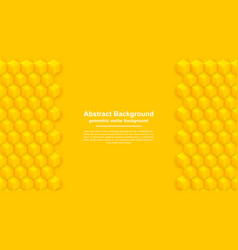 Abstract yellow and orange texture background vector