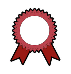 Award ribbon banner vector