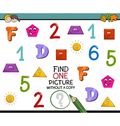 educational activity for kids vector image