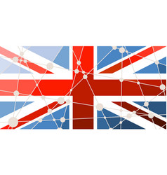 Great britain flag concept vector