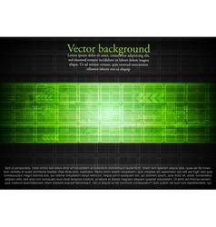 Green technical design vector