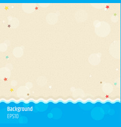 modern abstract background in summer beach and vector image