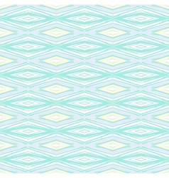 Modern geometric pattern in pale baby colors vector image