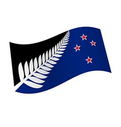 New Zealand flag variation vector image