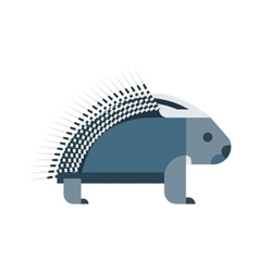 Porcupine icon vector