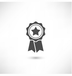 badge star vector image vector image