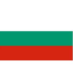flag of bulgaria vector image