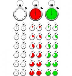 object dial vector image vector image