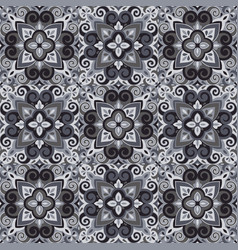 azulejos tile seamless pattern vector image