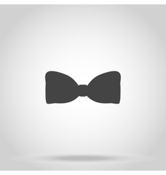 Bow iconon white background vector