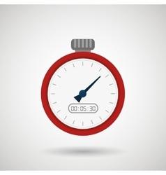 chronometer icons design vector image