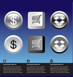 E-commerce icons vector