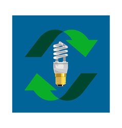 Energy Saver Bulb vector